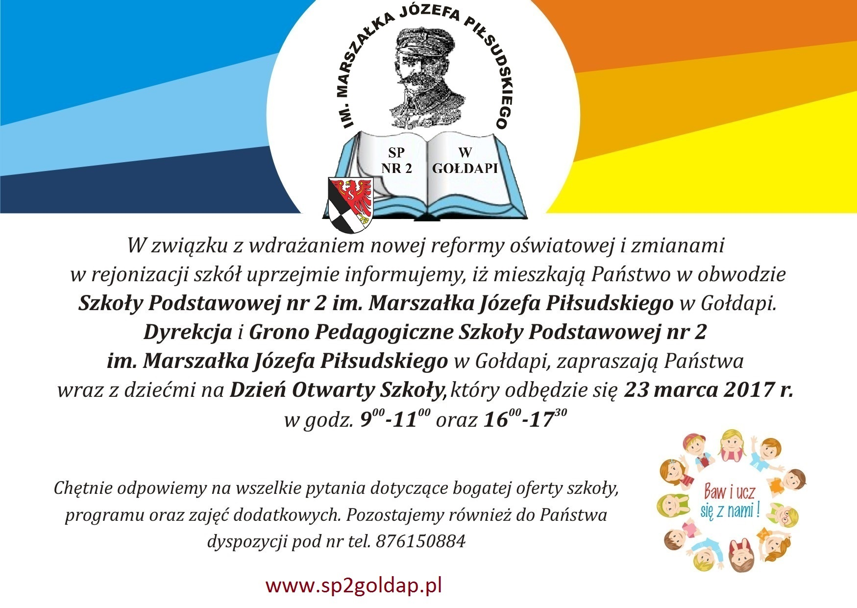Zaproszenie Na Dni Otwarte W Sp2 Aktualności Serwis Www Urzędu